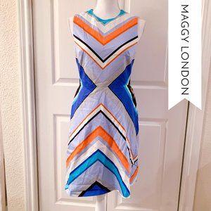 Maggy London Colorblock Dress